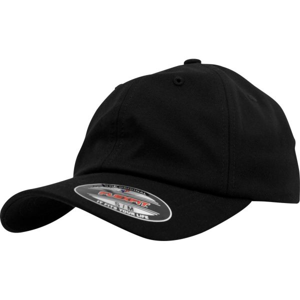 Flexfit Low Profile Light Wooly Stretchable Cap - schwarz