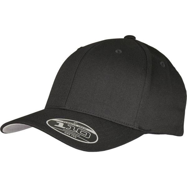 Flexfit 110 Wool Blend Adjustable Strapback Cap - black