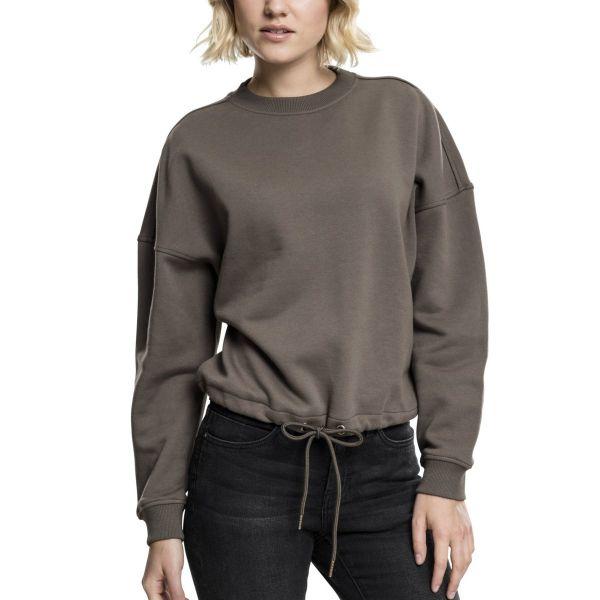 Urban Classics Ladies - Oversized Crewneck Pullover