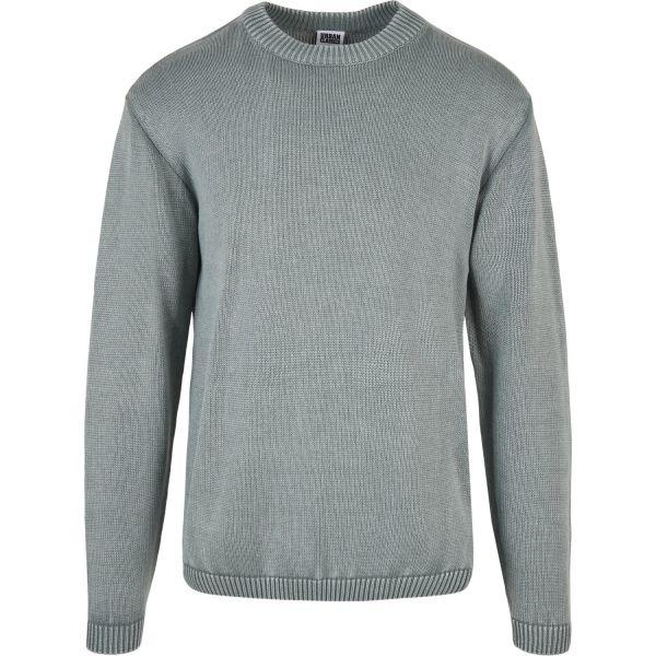 Urban Classics - Washed Strick Sweatshirt Pullover