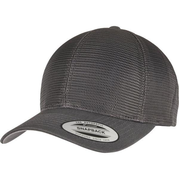 Flexfit 360 OmniMesh Trucker Snapback Cap - brown / khaki
