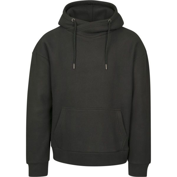 Urban Classics - Polar Fleece High Neck Hoody olive