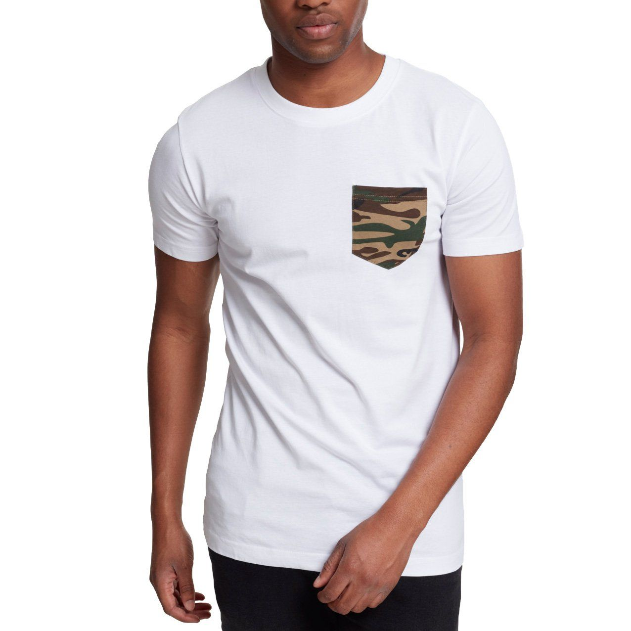Urban Classics - CAMO POCKET Shirt