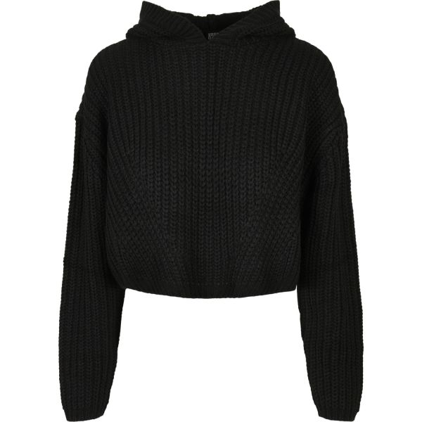 Urban Classics Ladies - Oversized Hoody Strick Sweater