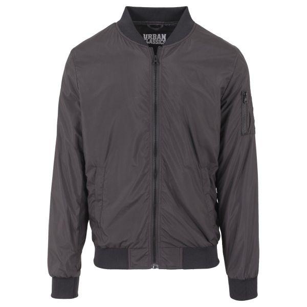 Urban Classics - LIGHT BOMBER Jacket dark olive