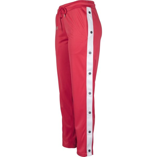 Urban Classics Ladies - Button Up Track Pants Retro Hose