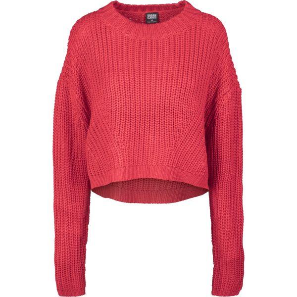Urban Classics Ladies - Wide Oversize Sweater olive
