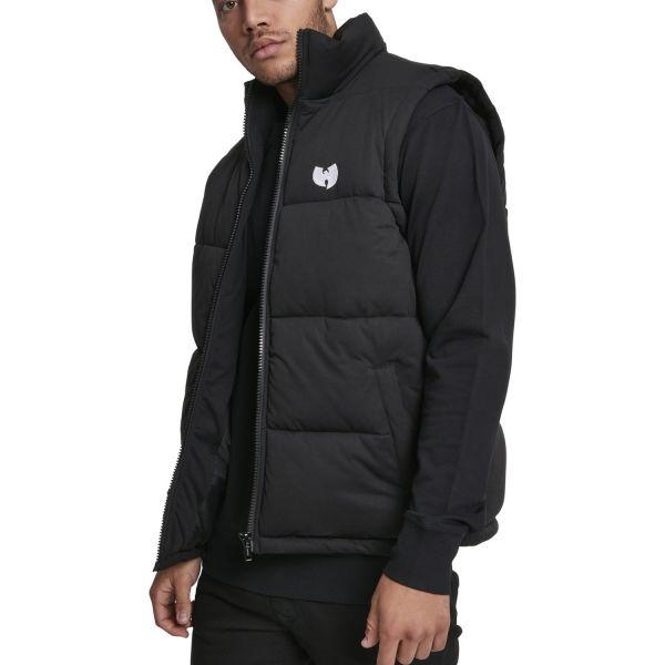 Wu-Wear Hip Hop Puffer Vest black