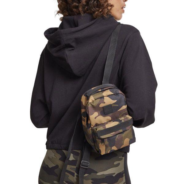 Urban Classics - MINI Backpack Rucksack wood camo