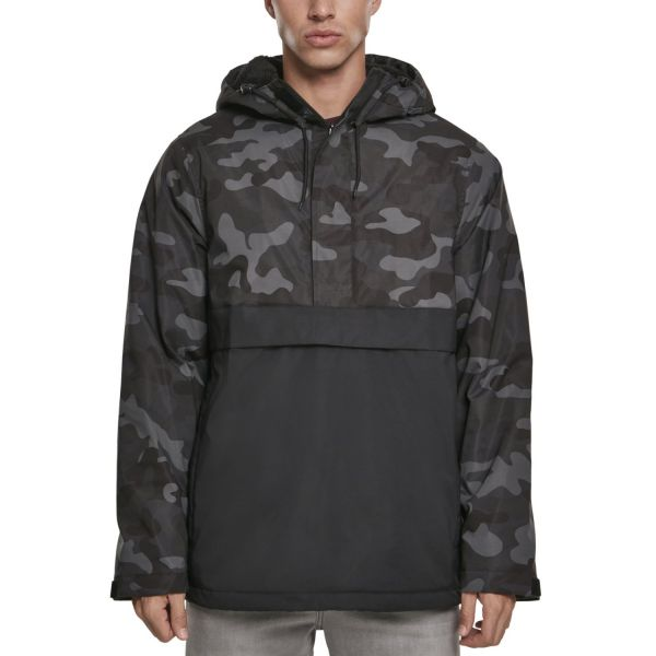 Urban Classics - PADDED PULL OVER Veste d'hiver snow camo