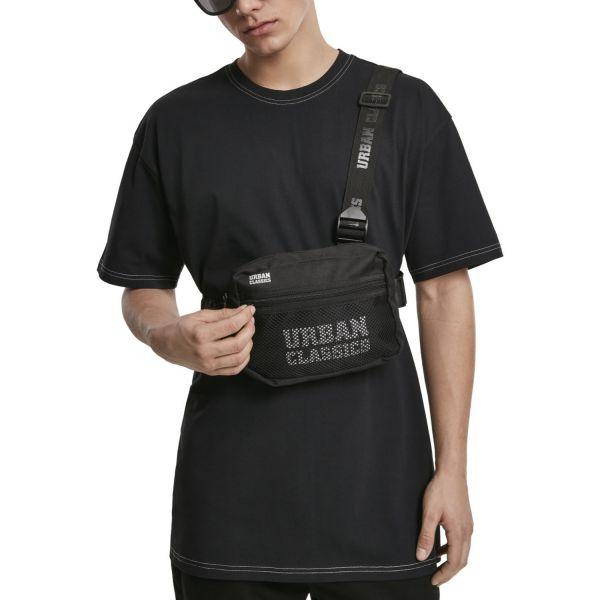 Urban Classics - Chest Bag Umhängetasche schwarz