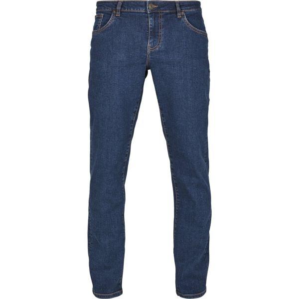 Urban Classics - Relaxed Fit Denim Jeans mid ingigo