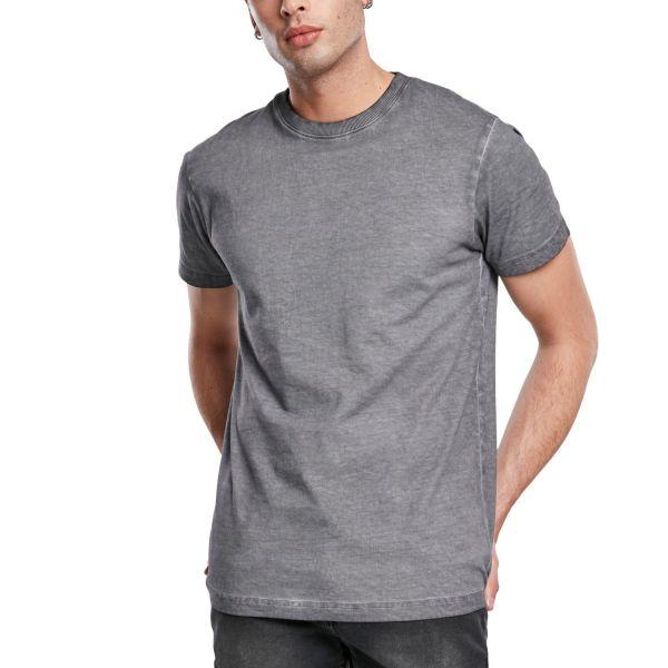 Urban Classics - GRUNGE Cold Dye Shirt asphalt grau
