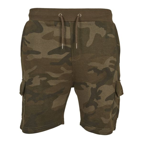 Urban Classics - ARMY CARGO Outdoor Terry Sweat Shorts