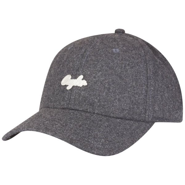 Cayler & Sons Curved Strapback Cap - PINNED heather grau
