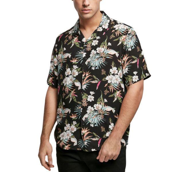 Urban Classics - Viscose Resort Shirt Hemd tropical