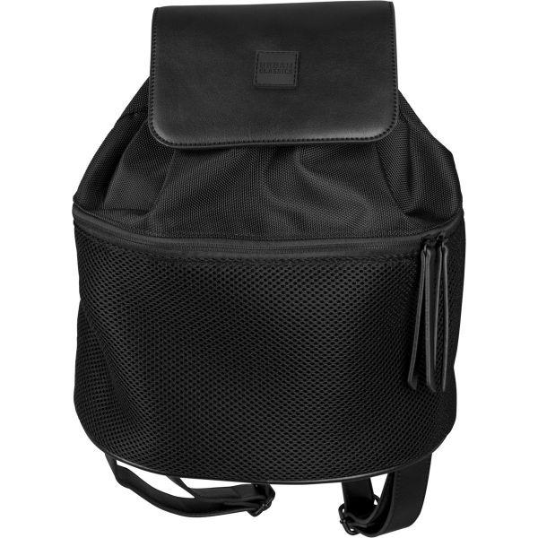 Urban Classics - MIDI MESH Backpack Rucksack schwarz