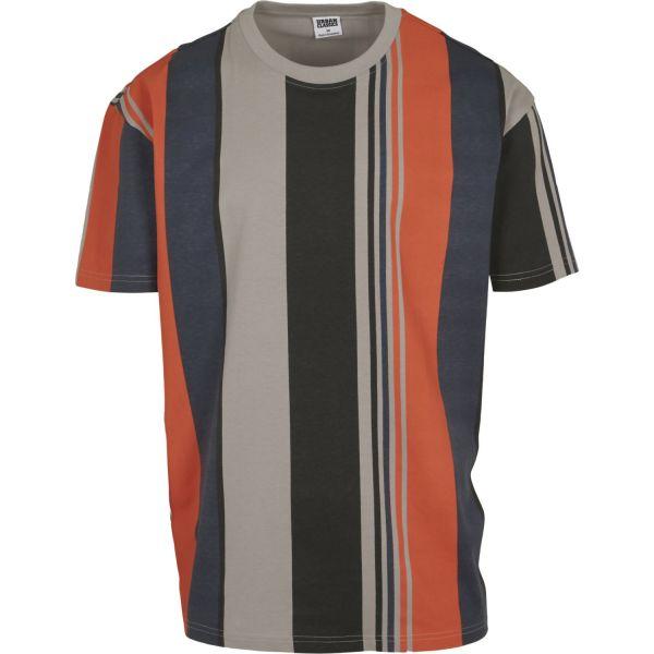 Urban Classics - Heavy Oversized Big AOP Stripe Shirt