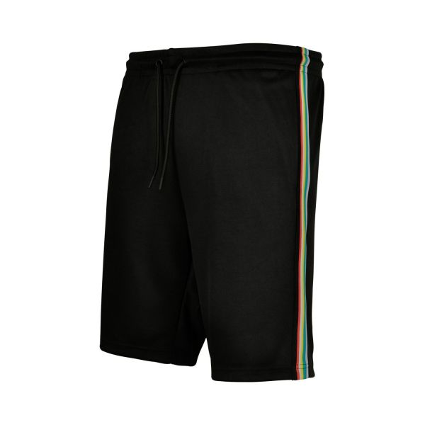 Urban Classics - SIDE Sweat Shorts black grey