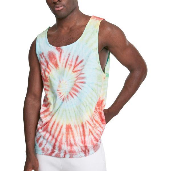 Urban Classics - SPIRAL Tie Dye Sommer Tank Top