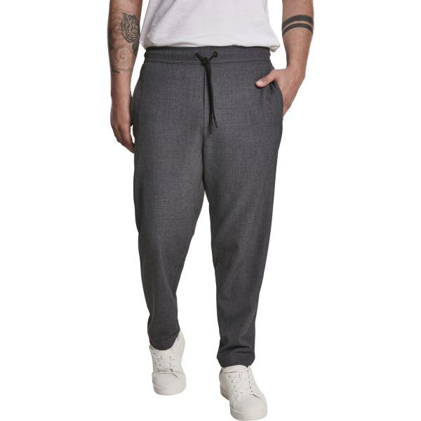 Urban Classics - Comfort Cropped Pantalon gris