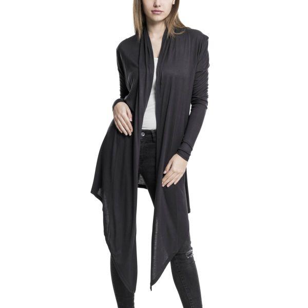 Urban Classics Ladies - VISKOSE Long Cardigan