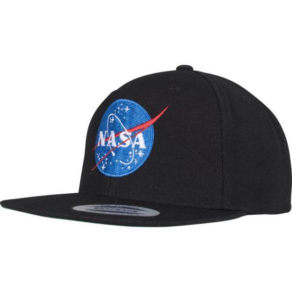Mister Tee Snapback Cap - NASA schwarz