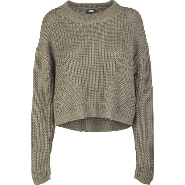 Urban Classics Ladies - Wide Oversize Sweater Strickpullover