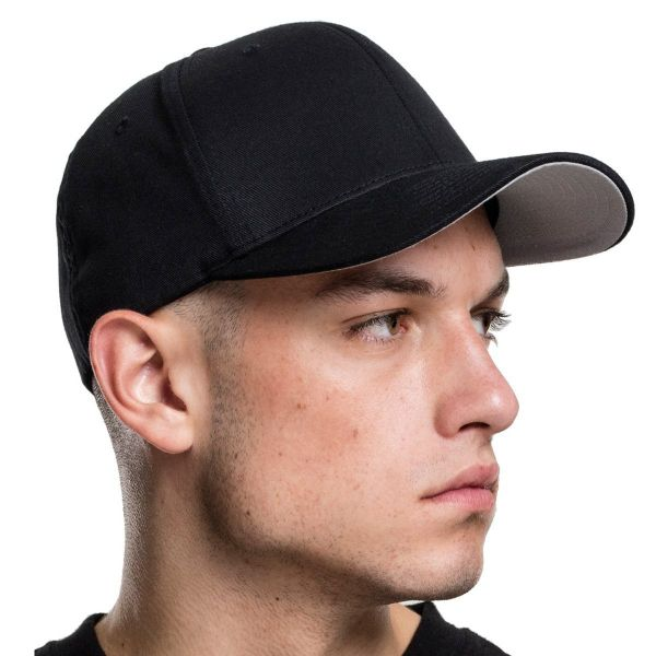 Flexfit WOOLY COMBED Stretchable Cap - olive