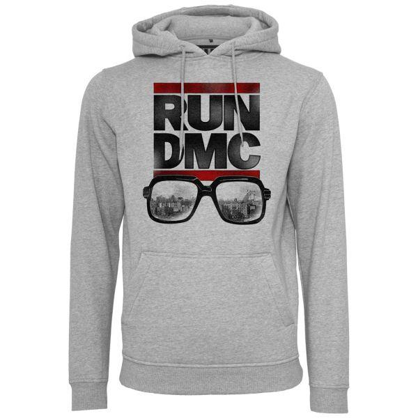 Merchcode X ARTISTS - RUN DMC City Glasses Hoody grau