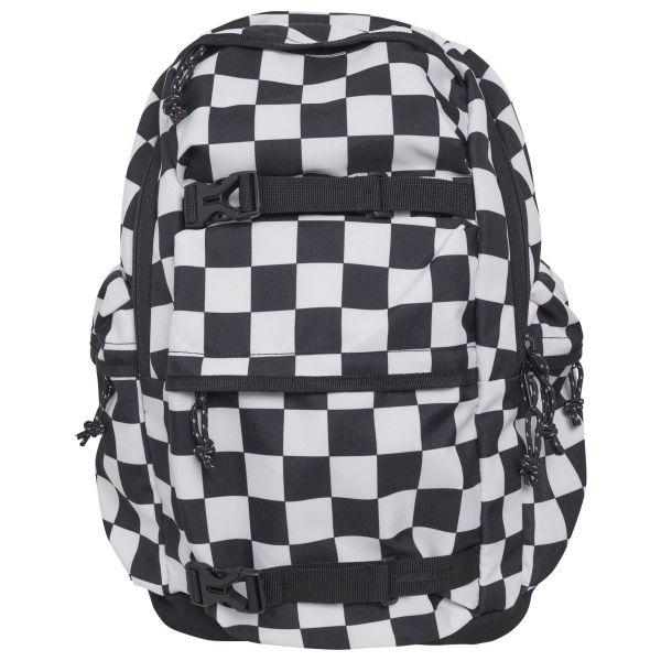 Urban Classics - CHECKER Backpack Rucksack schwarz