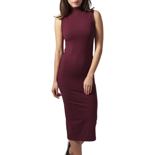 Urban Classics Ladies - Stretch Jersey Long Sommer Kleid