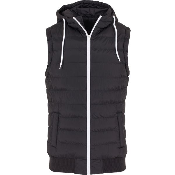 Urban Classics - HOODED SMALL BUBBLE Gilet gris - M