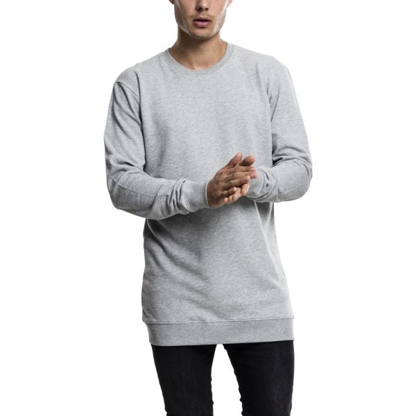 Urban Classics - Light Fleece Crewneck Pullover extra lang