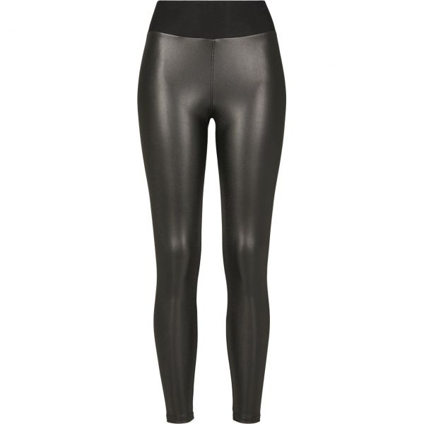 Urban Classics Ladies - High Waist Lederimitat Leggings