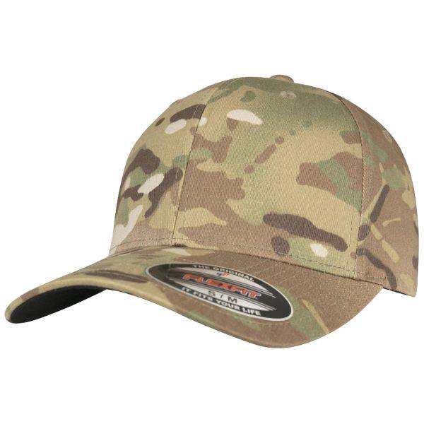 Flexfit Stretchable Multicamo Cap