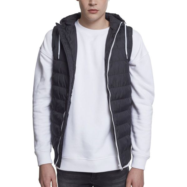 Urban Classics - HOODED SMALL BUBBLE Stepp Weste