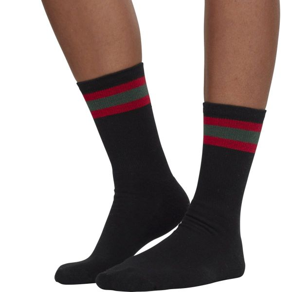 Urban Classics - SPORT STRIPE Tennis Socken 2er Pack