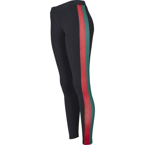 Urban Classics Ladies - SIDE STRIPE Sport Fitness Leggings