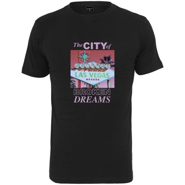 Mister Tee Shirt - CITY OF BROKEN DREAMS noir