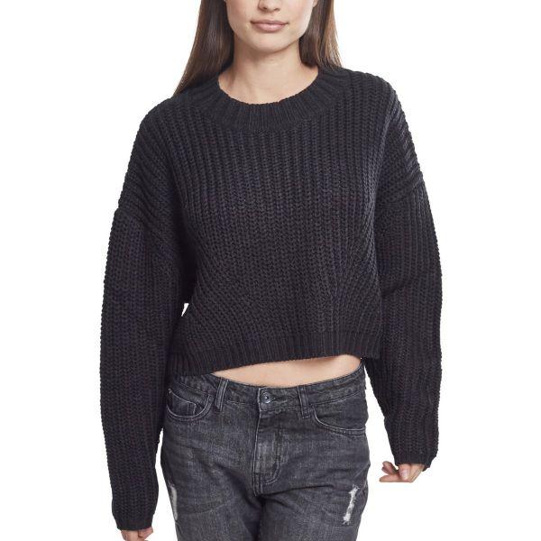 Urban Classics Ladies - Wide Oversize Sweater Strickpullover