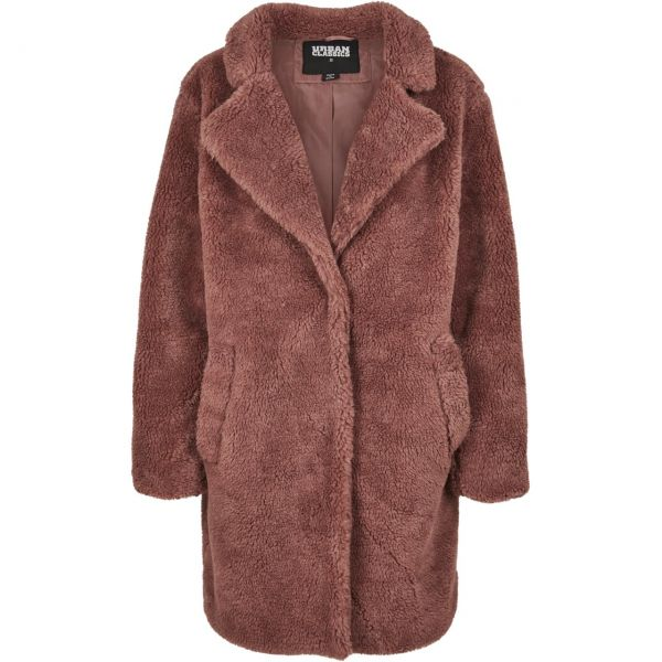 Urban Classics Ladies - OVERSIZED SHERPA Mantel