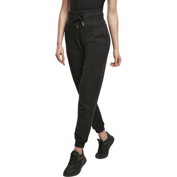 Urban Classics Ladies - Organic High Waist Sweatpants