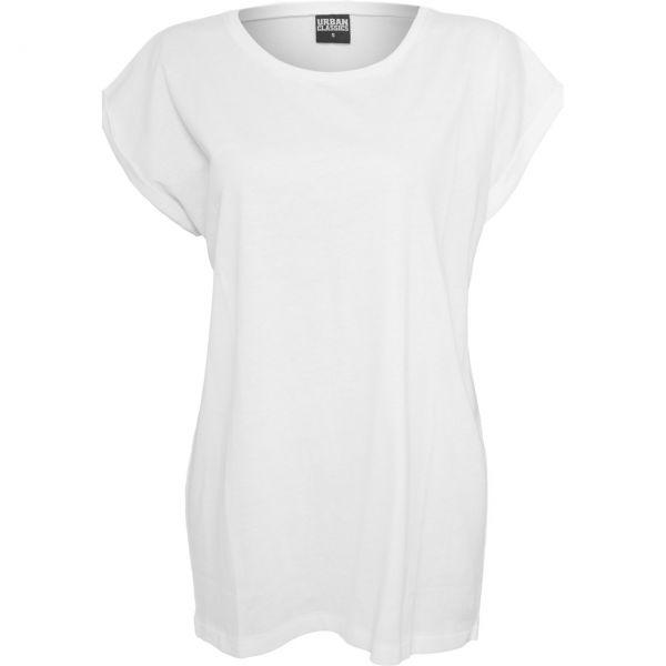 Urban Classics Ladies - Organic Extended Shoulder Long Shirt