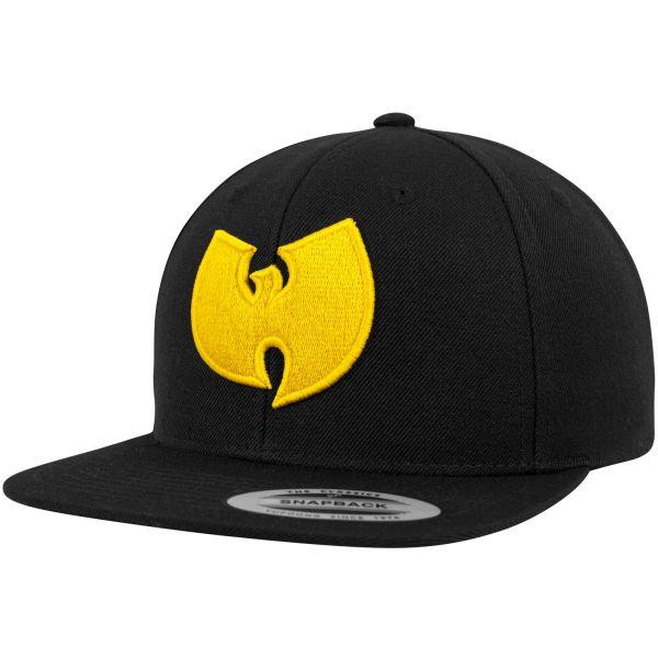 Wu-Wear Snapback Cap - LOGO noir