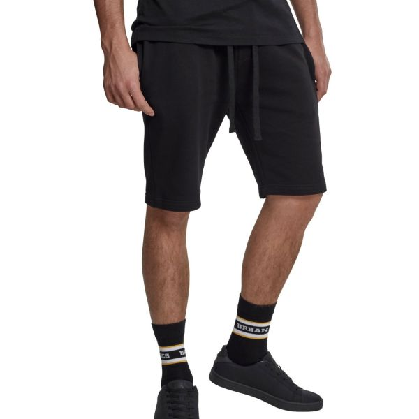 Urban Classics - BASIC Sweat Shorts noir