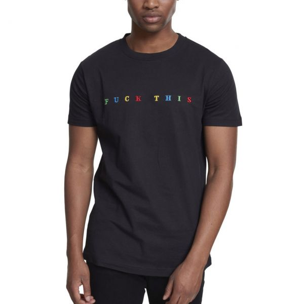 Mister Tee Shirt - F#?K THIS schwarz