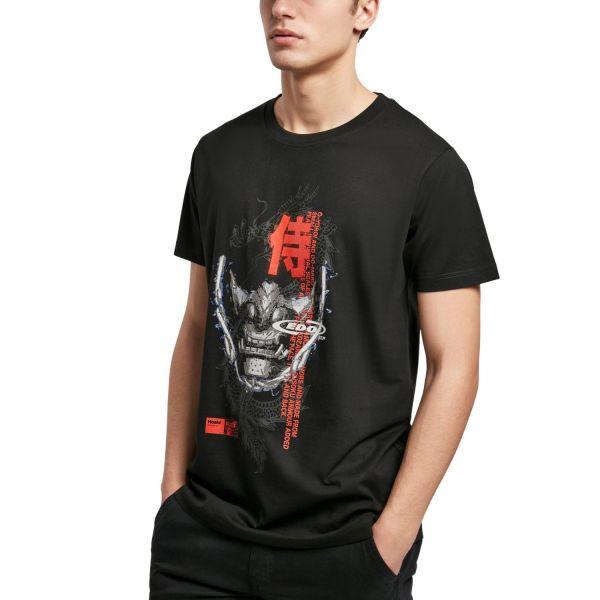 Mister Tee Grafik Shirt - SAMURAI schwarz