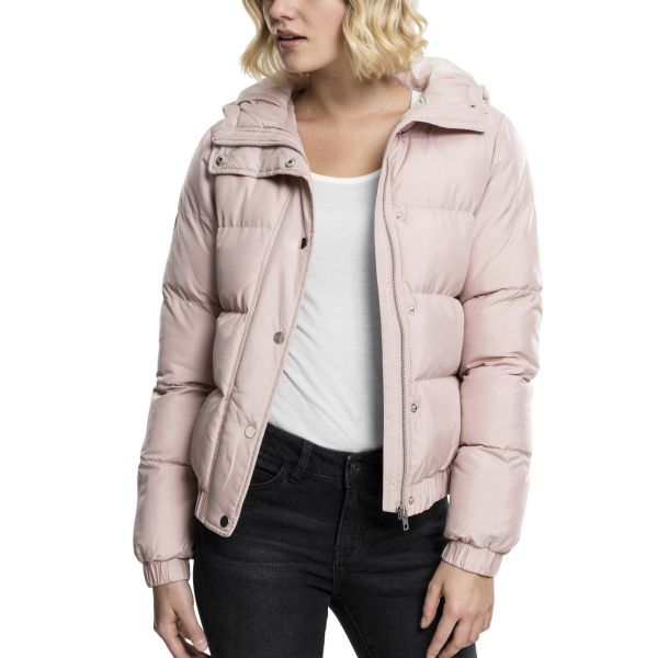 Urban Classics Ladies - Hooded Puffer Stepp Winterjacke