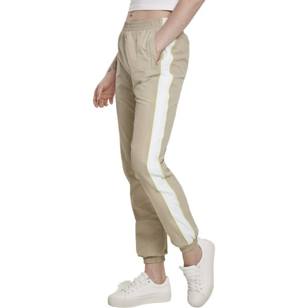 Urban Classics Ladies - VINTAGE Track Pants dark shadow